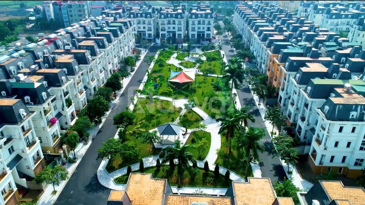 Bán lô đất 288m2  biệt thự Lideco 2 mặt tiền view công viên cây xanh
