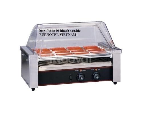 Máy nướng hot dog, xúc xích11 lô