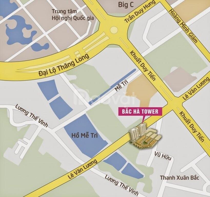 Bán căn hộ 115(m2) C37 Bắc Hà, 3pn,2wc