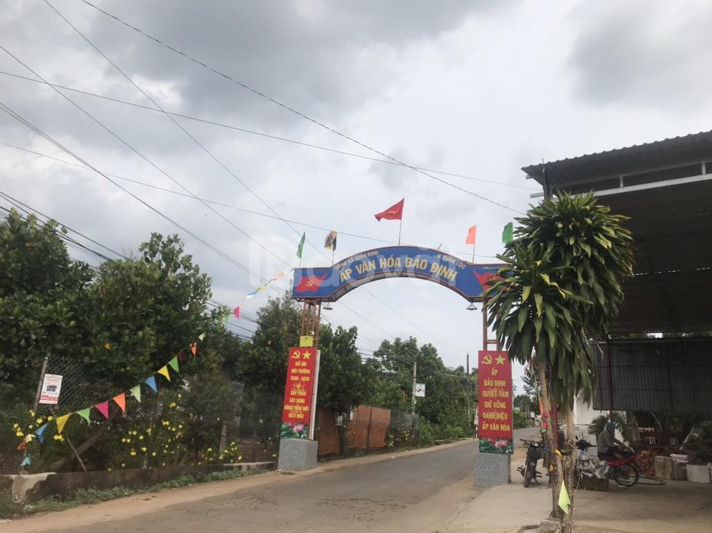 Đất thành phố Long Khánh 100m2 sổ hồng riêng thổ cư giá 200 triệu