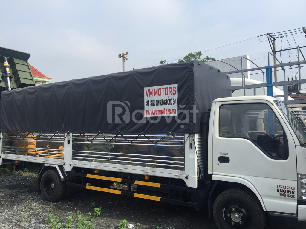 Xe tải Isuzu 1.9 tấn thùng dài 6m2, Isuzu Vĩnh Phát 1t9 giá rẻ ở.