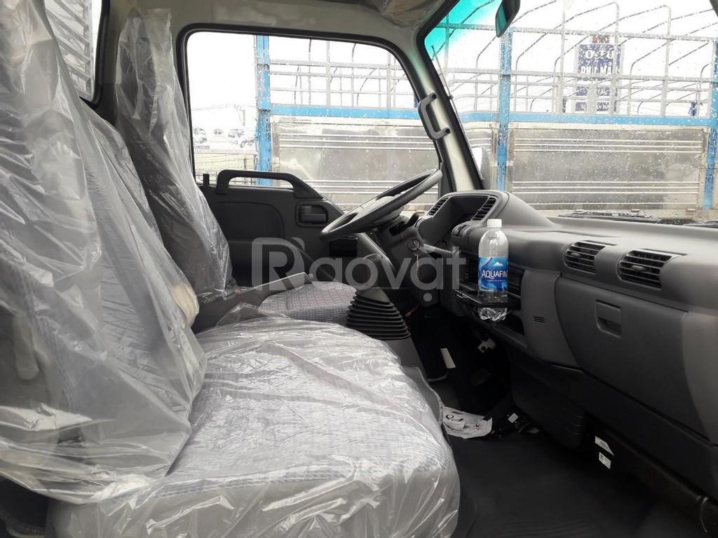 Xe tải isuzu 1T9 thùng dài 6m2, Isuzu Vĩnh Phát 1T9 vào thành phố