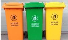 Thùng rác nhựa 120l giá rẻ