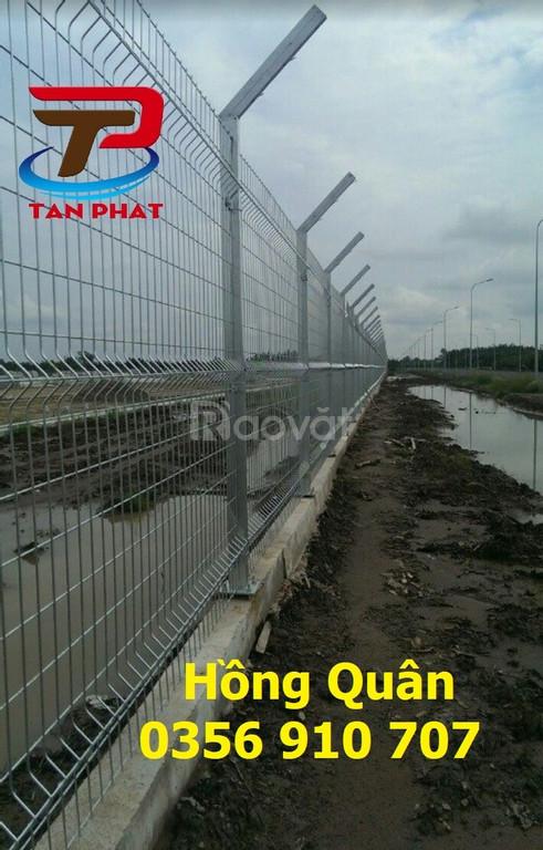 Hàng rào kho, hàng rào lưới thép, hàng rào bảo vệ dây 4ly,6ly
