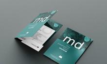 Thiết kế folder hợp đồng chuẩn đẹp