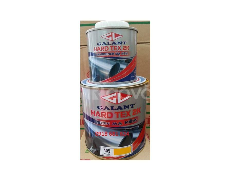 Sơn mạ kẽm Galant Hard Tex 2K | Bộ 3.75lit