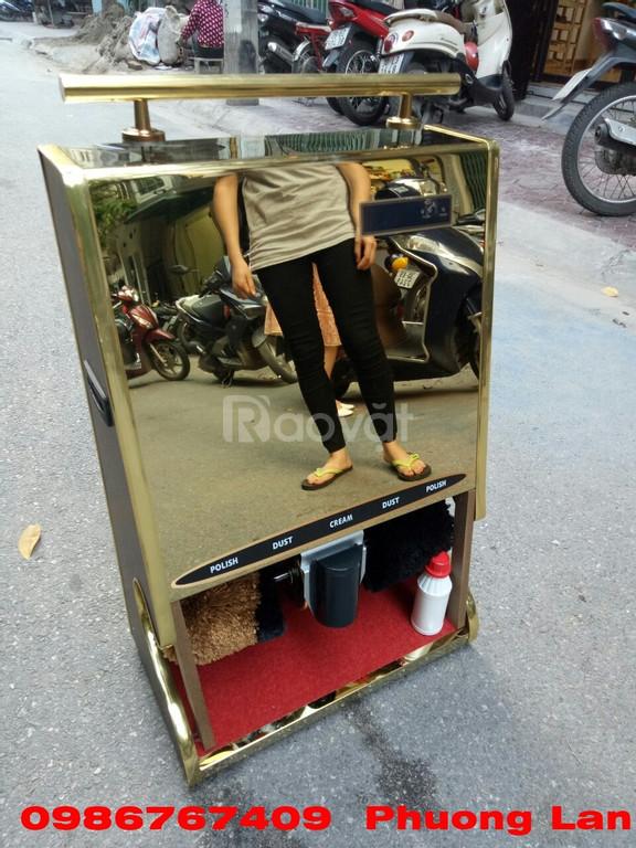 Máy đánh giày tự động cảm ứng dành cho nhà hàng khách sạn