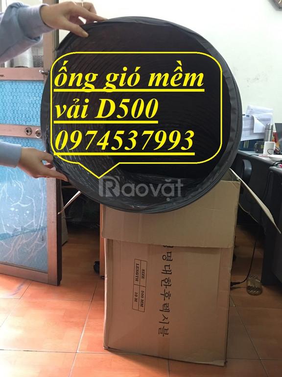 Địa chỉ tin cậy bán ống gió mềm Hàn Quốc chính hãng giá rẻ từ D75-D500