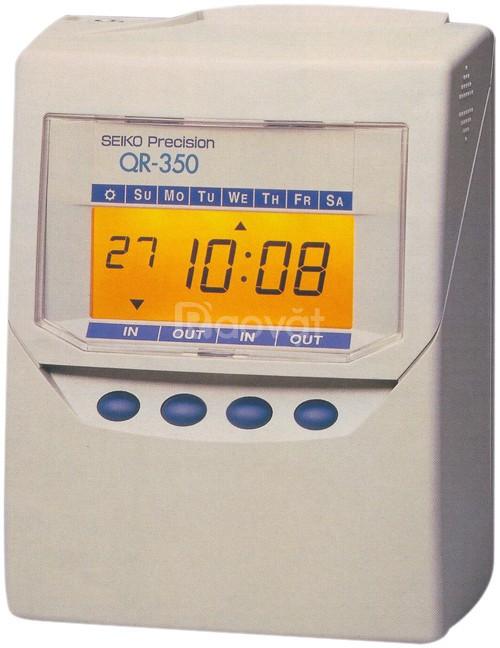 Máy chấm công thẻ giấy Seiko QR 395 bán giá rẻ