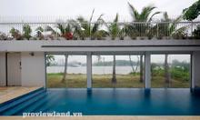 Villa bờ sông Thảo Điền, Q2, 405m2 đất, 4 tầng, DTXD 1000m2, 6PN
