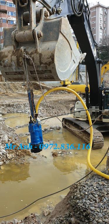 0972.836.116 Giá bơm chìm nước thải Tsurumi KTZ 22.2, 2.2kw thả hố món (ảnh 4)