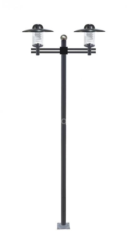 Cột chiếu sáng thân thép