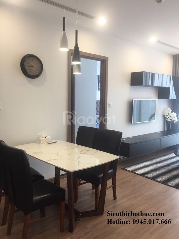 Có căn hộ 3PN cần cho thuê tại chung cư Hapulico Complex đồ cơ bản