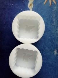 Khuôn bánh trung thu nhựa PVC