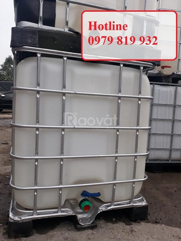 Cung cấp thùng nhựa vuông, tank nhựa vuông đựng hóa chất (ảnh 6)