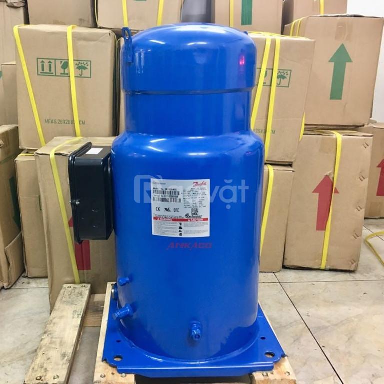 Thay ( block ) máy nén lạnh Danfoss Scroll SM120SS4VC, SM148T4VC, SM185S4CC cho các khu công nghiệp Biên Hòa