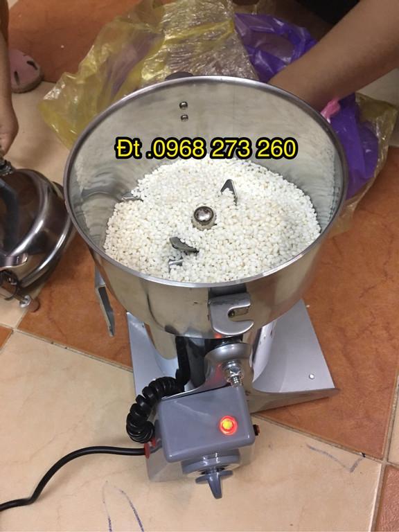 Máy xay bột khô siêu mịn,máy nghiền bột ngũ cốc mini