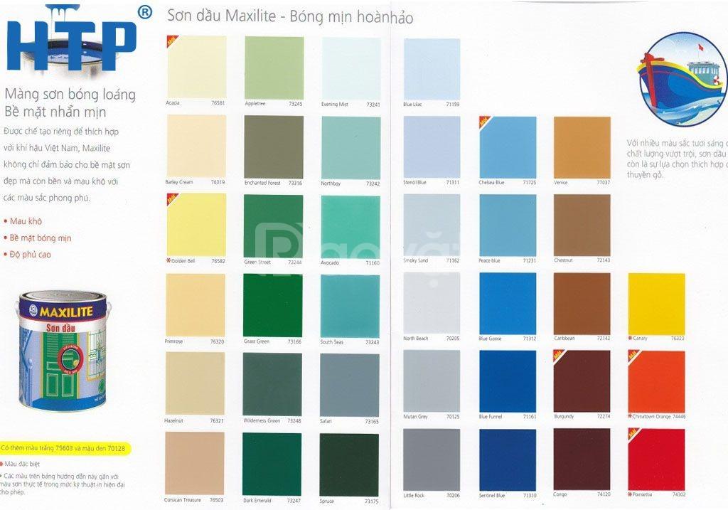 Cần mua sơn dầu maxilite màu xám cho sắt thép tại TPHCM