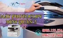 Máy photocopy mini quận 2