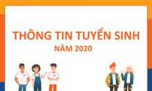 Tuyển sinh hệ Đại học - học online năm 2020