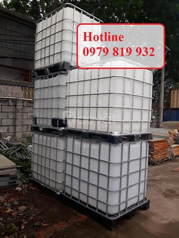 Cung cấp thùng nhựa vuông, tank nhựa vuông đựng hóa chất (ảnh 5)