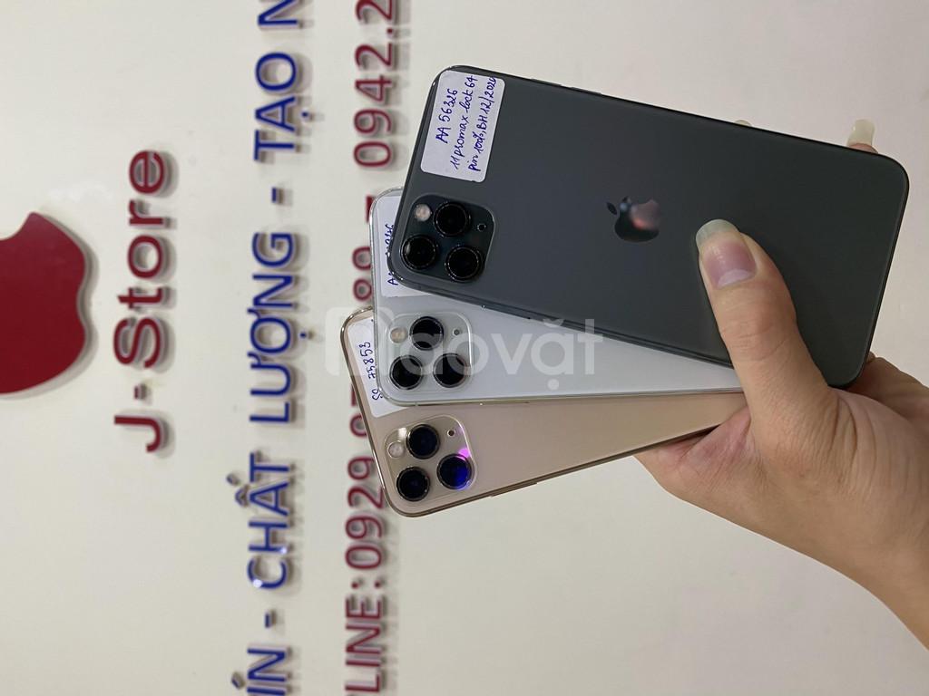 Điện thoại iphone 11 Promax lock 64gb đẹp, pin 100, BH Apple dài 2021