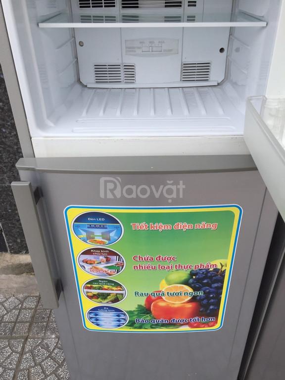 Tủ lạnh Sharp 181 lít, ngăn kính cường lực (ảnh 3)