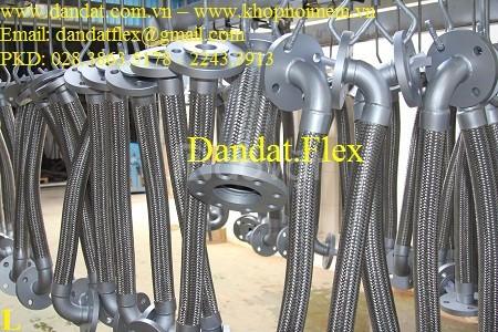 Khớp nối chống rung bằng inox, Khớp nối chống rung inox nối bích JIS