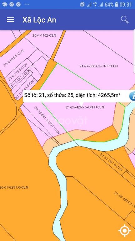 Nhà có việc bán gấp đất Lộc An - Long Thành - Đồng Nai