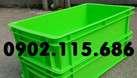 Thùng nhựa cơ khí có nắp, hộp nhựa cơ khí có nắp, khay nhựa cơ khí có  (ảnh 1)