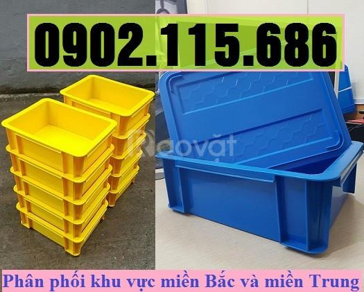 Thùng nhựa cơ khí có nắp, hộp nhựa cơ khí có nắp, khay nhựa cơ khí có