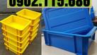 Thùng nhựa cơ khí có nắp, hộp nhựa cơ khí có nắp, khay nhựa cơ khí có  (ảnh 7)