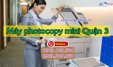 Cho thuê máy photocopy mini quận 3