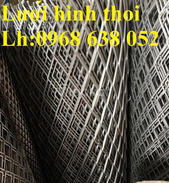 Lưới hình thoi 30x60x3ly dùng trang trí hàng có sẵn (ảnh 5)