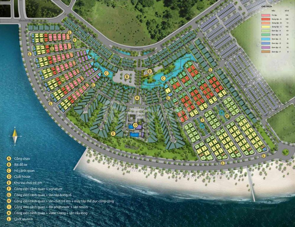 Biệt thự mặt biển Bãi Cháy - Sun Grand City Feria Hạ Long