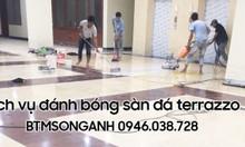 Dịch vụ đánh bóng sàn đá marble - BTMSONGANH