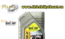 Thùng 24 chai nhớt động cơ xe số Emi Super 4T (0,8 Lít)