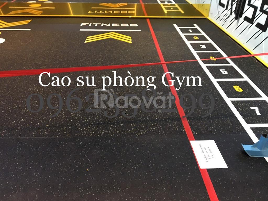 Thảm lót sàn gym, fitness, yoga (ảnh 6)