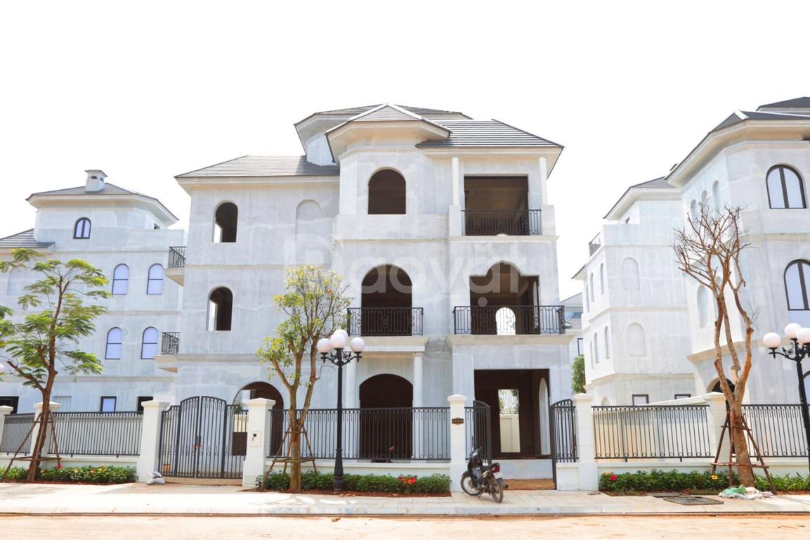 Biệt thự đơn lập dự án Vinhome Green Villas Tây Mỗ