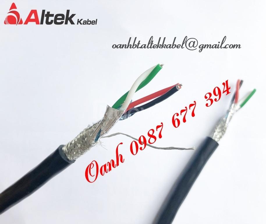 Cáp tín hiệu vặn xoắn chống nhiễu RS485, cáp truyền thông RS485
