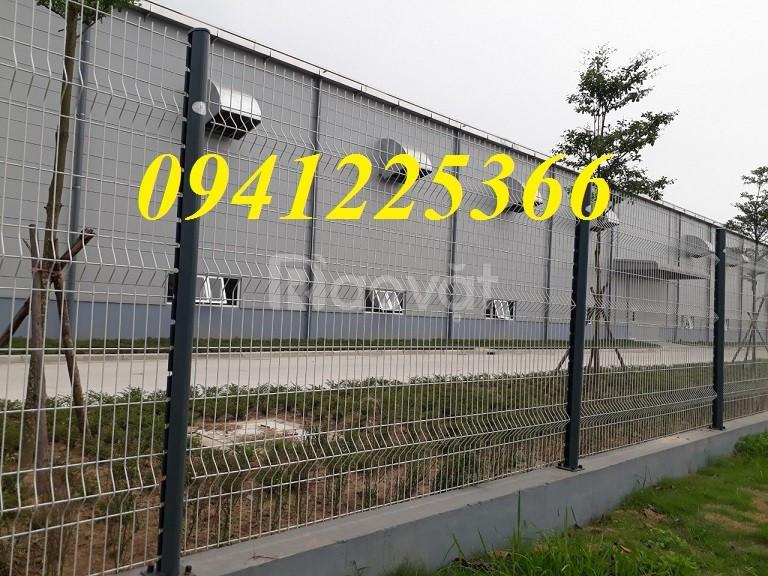 Hàng rào mạ kẽm sơn tĩnh điện