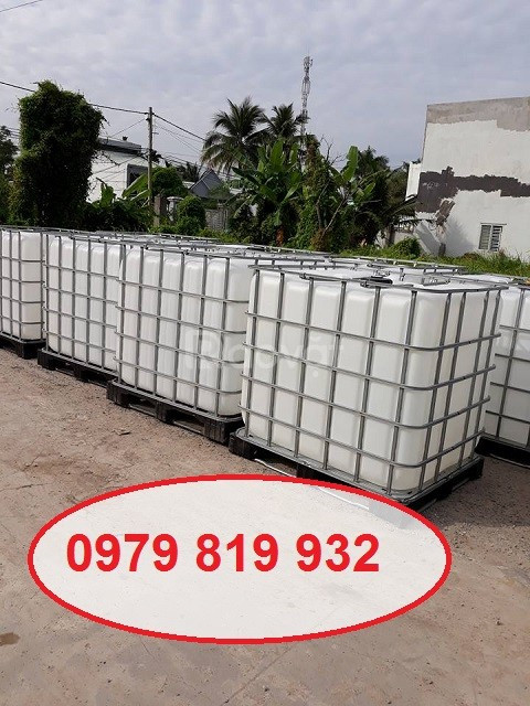 Bán tank nhựa 1000l mới 100% đựng nước