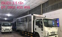 isuzu 3.495kg thùng Kín 5.2m, KM máy lạnh, 9 phiếu bảo dưỡng