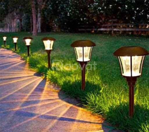 Đèn nấm sân vườn