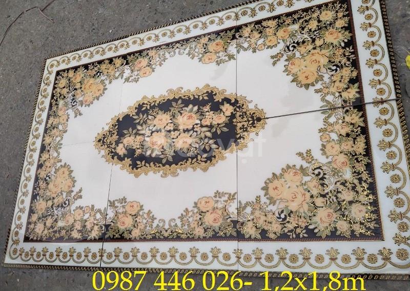 Thảm gạch gạch trang trí phòng khách HP7170TG