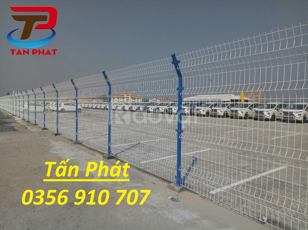 Hàng rào lưới thép,  hàng rào đẹp, hàng rào thép D4 a50*200