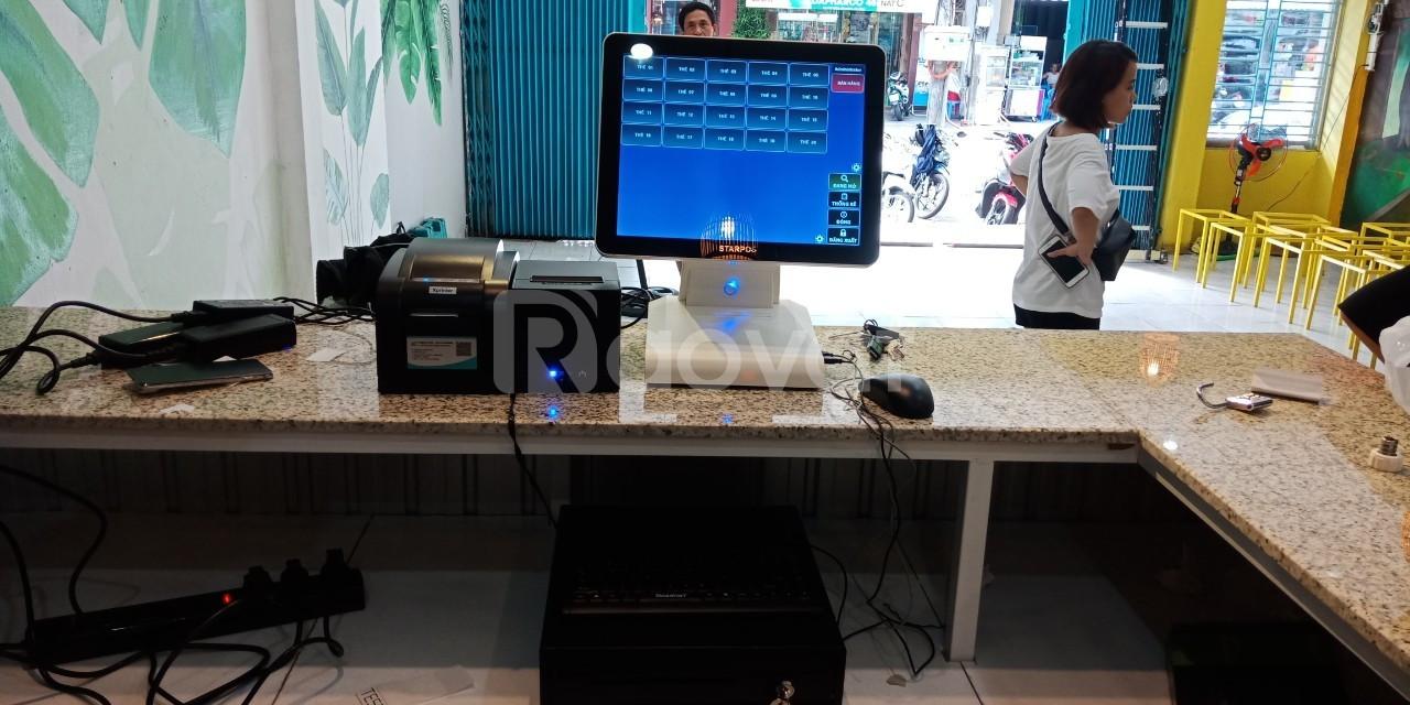 Bộ máy tính tiền dành cho quán trà chanh bụi phố giá rẻ (ảnh 4)