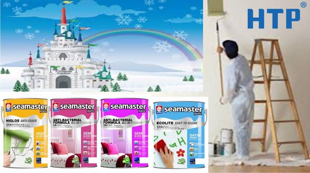 Cửa hàng bán sơn nước nội thất Seamaster 7700 uy tín nhập từ nhà máy