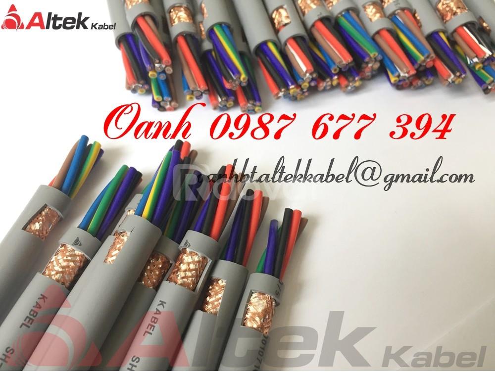 Dây cáp điều khiển Altek Kabel có lưới và không lưới