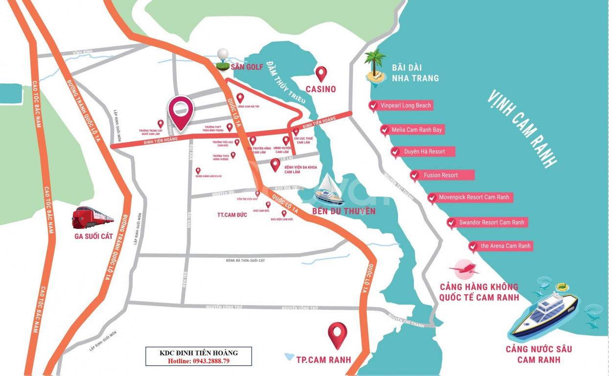 Ra mắt dự án KDC Đinh Tiên Hoàng Cam Lâm